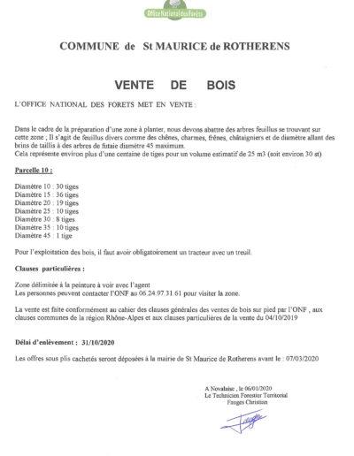 Information bois